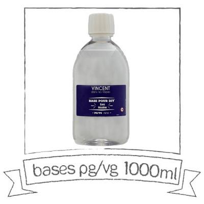 Base PG VG 1 Litre VDLV Sans nicotine
