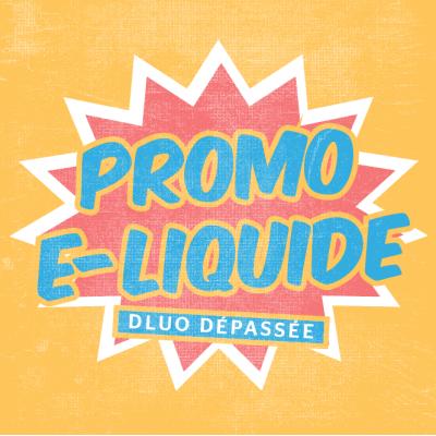 Promo E liquide DLUO dépassée