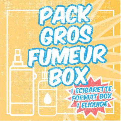 Pack gros fumeur Box