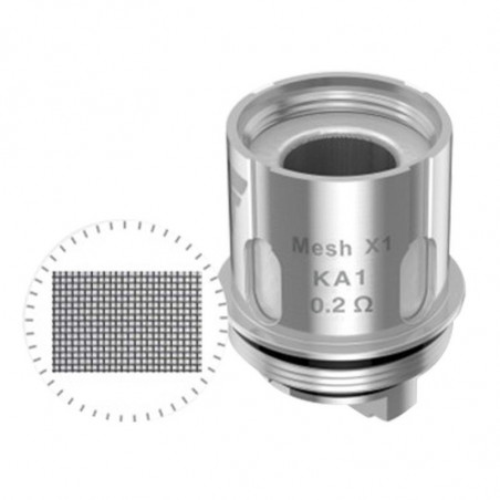 Lot de 5 résistances Mesh X1 Cerberus/Aero/shield Geekvape
