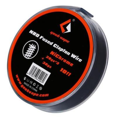 N80 Fused Clapton Wire - Geekvape