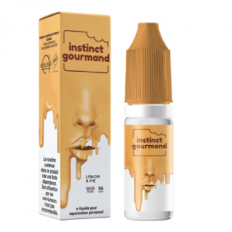Lemon & Pie - Instinct Gourmand - Alfaliquid