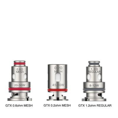 Lot de 5 résistances GTX - Geekvape