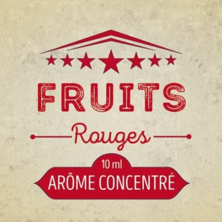 Fruits Rouges Cirkus arôme concentré 10 ml