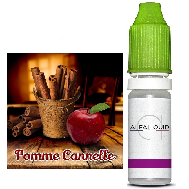 Pomme Cannelle Alfaliquid