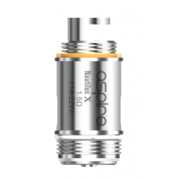 Lot de 5 résistance Nautilus X U Tech 1.5 ohm
