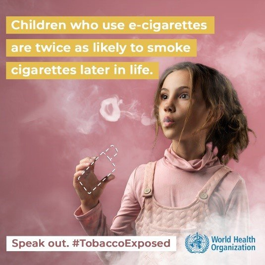 Children who use e-cigarettes are twice as likely to smoke cigarettes later in life.