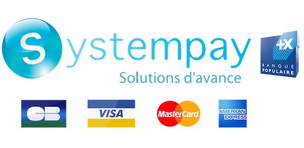 Payer vos commandes iClope.com par carte bancaire avec Systempay (3D Secure)