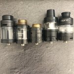 Atomizers, Clearomiseurs et Drippers (image de substitution)