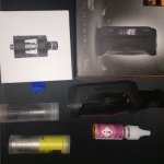 Kit vapoteuse avec flacon bubble gum (image de substitution)