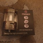 steam crave titan aromatizer Rdta (image de substitution)